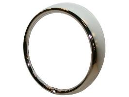 Cercle de phare chrome H4 qualité supérieure (modèle une vis)