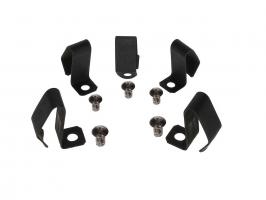 Agrafes + rivets d'enjoliveur (par 5) qualité supérieure jantes 5x205