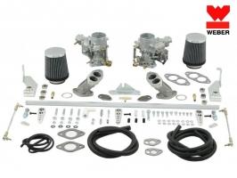 Kit de 2 carburateur WEBER 34 ICT 13/1600 D.A