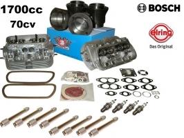 Kit moteur 1700cc 70cv montage direct (sans usinage) sur 1300 et 1600