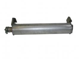 Silencieux arrière fixation par collier pour transporter 86/92 1.6TD