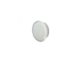 Bouchon de vis de porte blanc