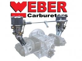 Kit 2 carburateurs WEBER IDF 44 CB PERFORMANCE